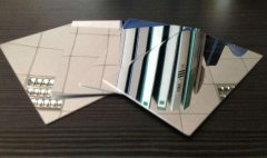 silver gold mirror anodized aluminum sheet